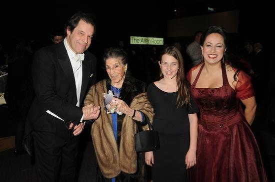 Phillip Cokorinos, Licia Albanese, Leah Lane and Kristin Sampson Photo